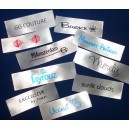 Sew In Satin Labels White 60x20 mm