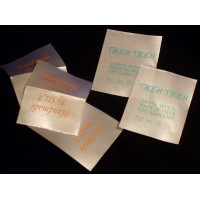 Sew In fine Satin Labels white 40x50 mm