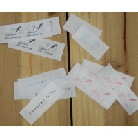 Satin Labels - coated - 25x60 mm