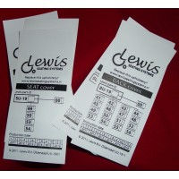 Sewing Labels White Nylon 70x40 mm