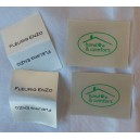Satin sew In Labels ivory 30x40 mm