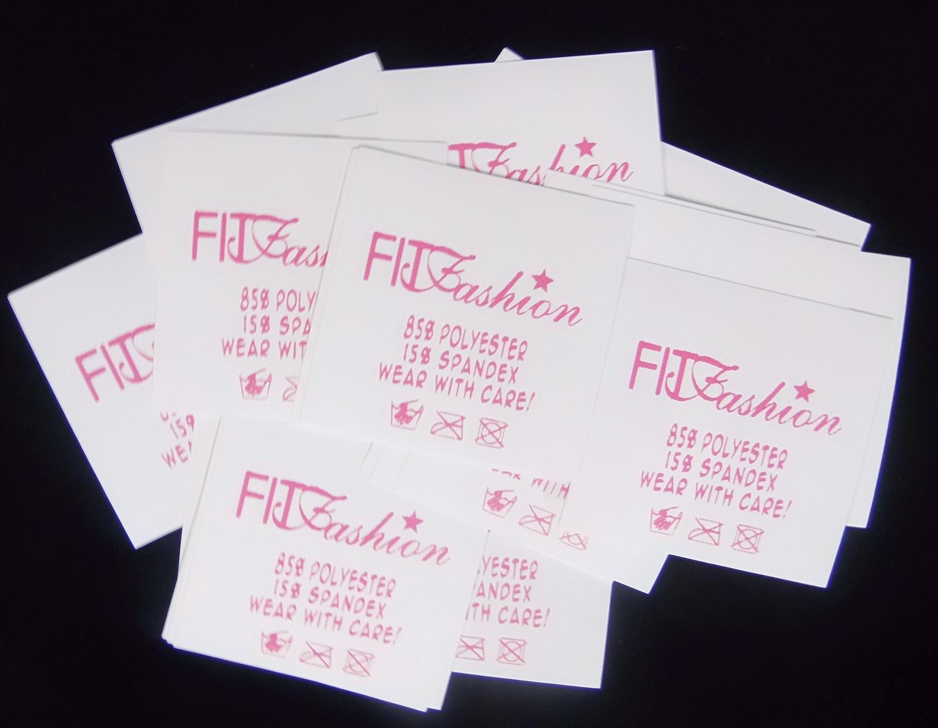 waschpflege labels und stoffdruck etiketten f r kleidung. Black Bedroom Furniture Sets. Home Design Ideas